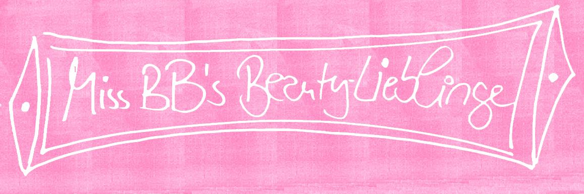 MissBB's Beautylieblinge – die Erste in 2015