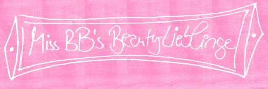 beauty lieblinge miss BB Lieblingsbeautyprodukte Beautytipps Kosmetik Favoriten Blog Bonn