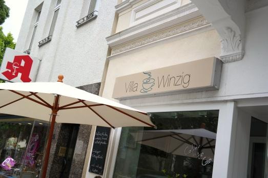 Auf einen Lunch ins Café Villa Winzig // Klein aber fein mitten in Bad Godesberg