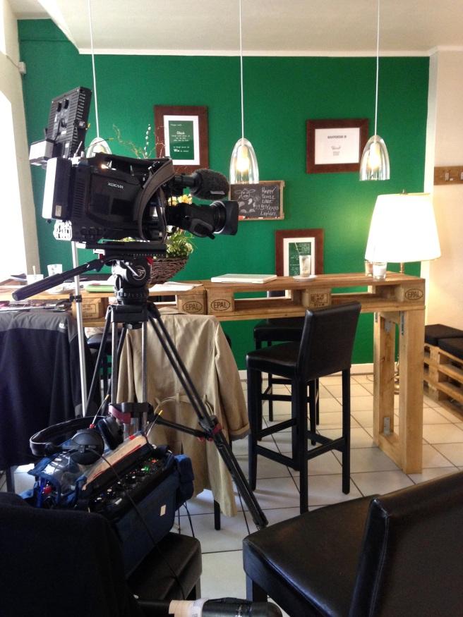 WDR Frau TV Trauzeugin Kamera set