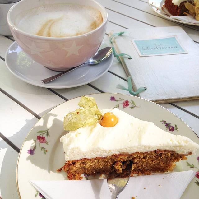 cafe lindentram bonn bad godesberg karottenkuchen