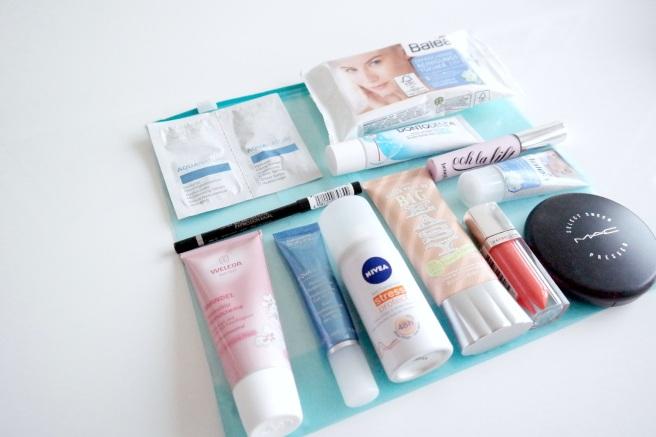 Beauty Kosmetik Make up Flüssigkeiten Flugzeug 1 Liter Frisch machen Langstreckenflug was mitnehmen australien
