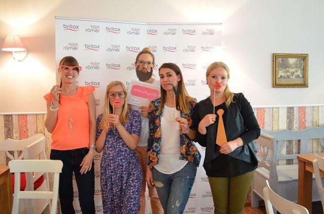 Britax Blogger café Britax Römer Event Bloggerevent Köln 2015 Mamablog Team F unf H