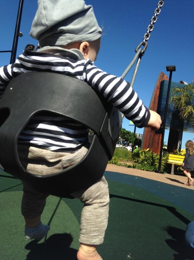 Australien mit Baby Kind Gladstone Autofahrt Cafe Hotel Erfahrung worauf achten roadtrip ostküste mit dem auto