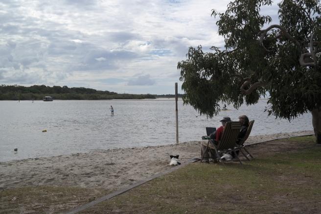 Noosa Australien mit Kind Fernreise Langstrecke Noosa Heads Strand Erfahrung worauf achten roadtrip ostküste mit dem auto grind cafe