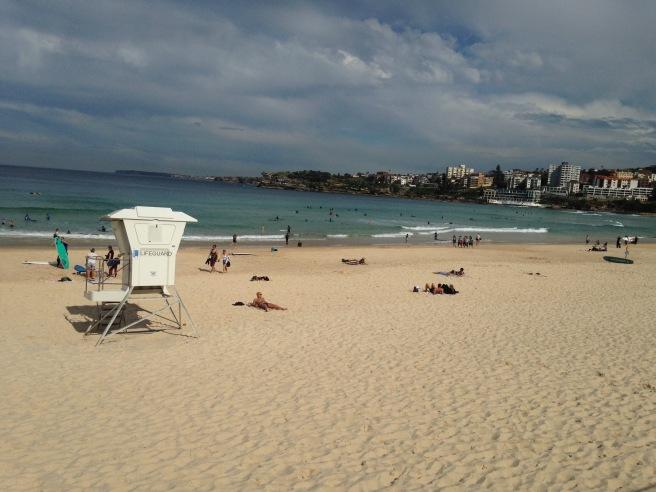 Reisen mit Baby Kindern Australien Ostküste Roadtrip Sydney Inlandsflug Erfahrungsbericht Reiseblog Mamablog Empfehlung bondi beach sport
