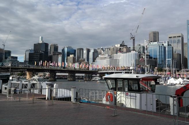 Reisen mit Baby Kindern Australien Ostküste Roadtrip Sydney Inlandsflug Erfahrungsbericht Reiseblog Mamablog Empfehlung darling habour