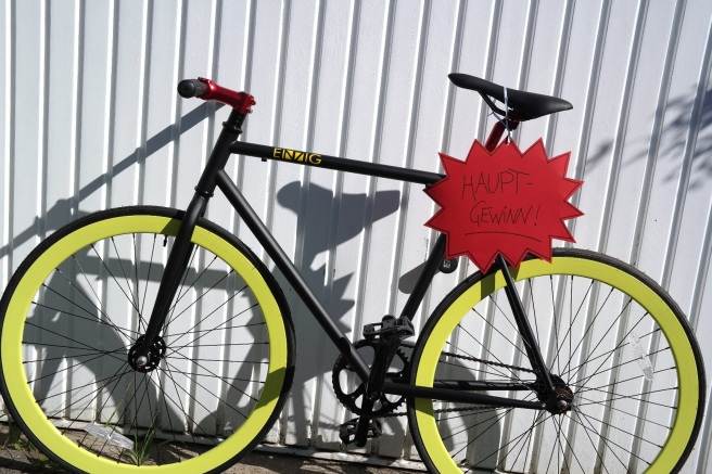 Fassbrause Einzig Fahrradmanufaktur Dortmund Single Speed Bike Lifestyle Blog Gewinnspiel