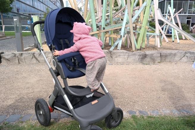 #stokkeonthego stokke trailz kinderwagen test empfehlung wald draußen mamablog bonn beethovenhaus